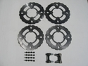 Wildcat Big Brake Rotor Kit