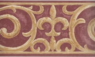 Architectural Scroll Wallpaper Border EU4947b