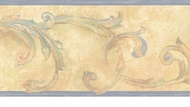 Acanthus Leaves Wallpaper Border OS24601b