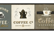 Coffee Signs Wallpaper Border AM8642b