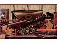 English Pheasant Hunting Wallpaper Border RS3524b