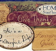 Home Sweet Home Expressions Wallpaper Border