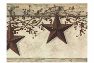 Hanging Star Wallpaper Border