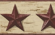 Barn Stars Wallpaper Border