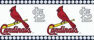 St. Louis Cardinals Wallpaper Border