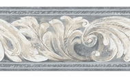 Architectural Scroll Wallpaper Border BG1702bd