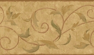 Vine Scroll Wallpaper Border PA5566b
