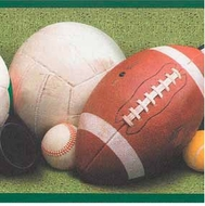 Sports Balls Wallpaper Border