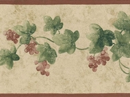 Narrow Ivy Wallpaper Border SM8431b