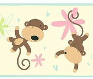 Monkey Wallpaper Border