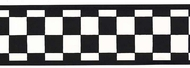 Checkered Flag Wallpaper Border IN2642b