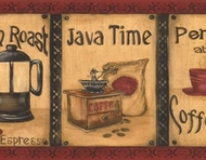 Java Time Coffee Wallpaper Border