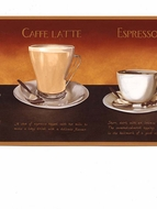 Coffee Expresso Wallpaper Border