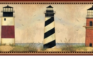 Lighthouse Legends Wallpaper Border AAI08071b