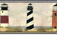 Lighthouse Legends Wallpaper Border AAI08072b