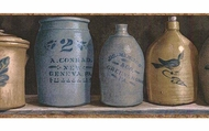 Stoneware Jugs Wallpaper Border PC95162