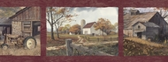 Country Days On The Farm Wallpaper Border PUR44591b