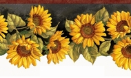 Sunflower Waltz Wallpaper Border KBE12514b