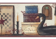 The Black Swan Wallpaper Border YC3391bd