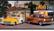 Hot Rods Wallpaper Border