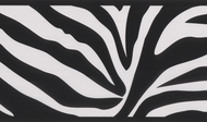 Zebra Stripes Wallpaper Border 443b90546