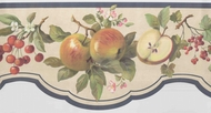 Scalloped Edge Fruit Wallpaper Border BKB2882