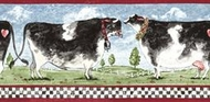 Cows Wallpaper Border
