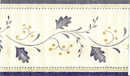 Berry Vine Wallpaper Border