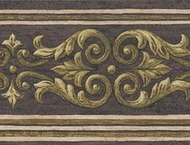Architectural Scroll Wallpaper Border JS2071b