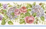 Rose Garden Wallpaper Border GU92101B