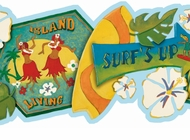 Surf's Up Wallpaper Border GU92171B