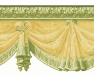 Monticello Swag Unpasted Wallpaper Border AV057122b