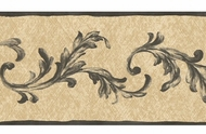 Acanthus Leaf Scroll Wallpaper Border PL013164b