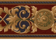 Medallion Architectural Wallpaper Border AT75144b
