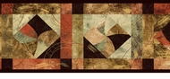 Contemporary Geometric Wallpaper Border OS24612b