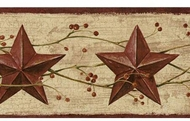 Stars And Berries Wallpaper Border CN1124bd