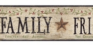 Faith, Family, Friends Wallpaper Border BG1609bd