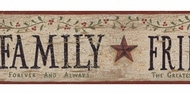 Faith, Family, Friends Wallpaper Border BG1608bd
