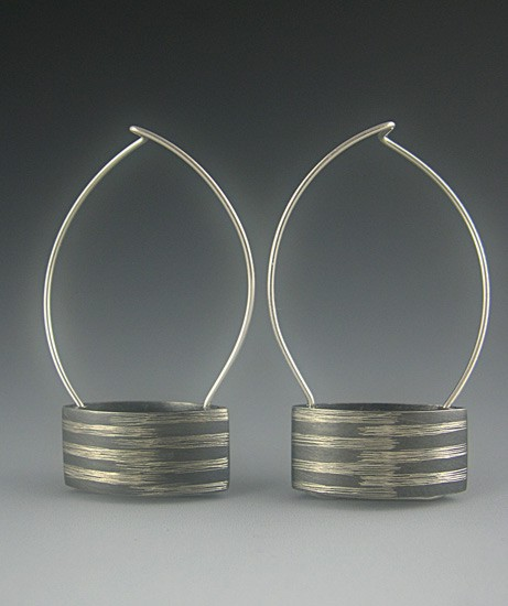 Curved Rectangle Earrings