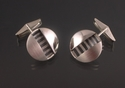 Striped Slit Cuff Links