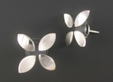 4 Leaf post Earrings