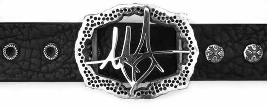 Custom Pat Monahan Signature Buckle