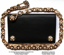 Sigal Wallet with Dainty E.C. Wallet Chain