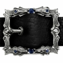 Glory Parish Buckle with Fistfull of Sapphires