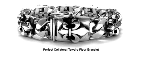 Perfect Collateral Tawdry Fleur Bracelets