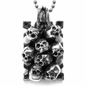 Ivy Mike Catacomb Dog Tags Silver