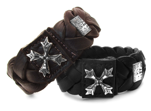 Goodfellas Braided Leather Bracelet