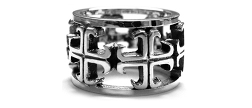 Medium O.G. Cross Envelop Ring