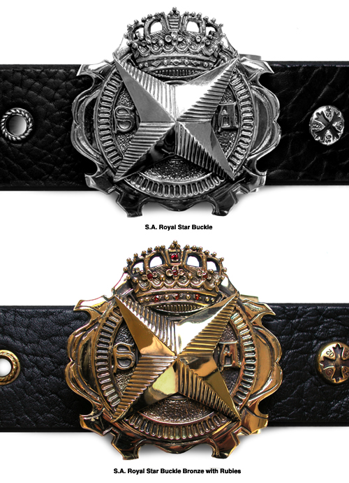 S.A. Royal Star Buckles