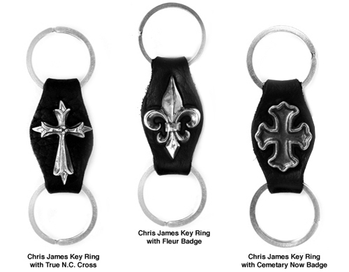 Chris James Key Rings